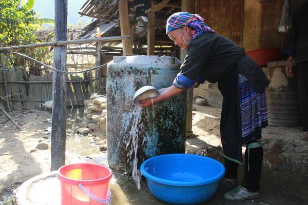 Yên Bái: Hơn 90% người dân nông thôn sử dụng nước hợp vệ sinh