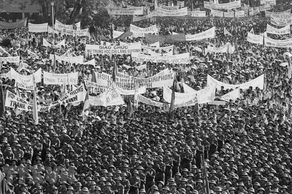 Chiến dịch Hồ Chí Minh - kết thúc thắng lợi 30 năm kháng chiến chống xâm lược,giành độc lập dân tộc của nhân dân Việt Nam