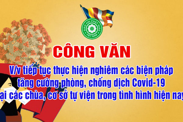 Phật giáo chung tay phòng chống dịch Covid-19