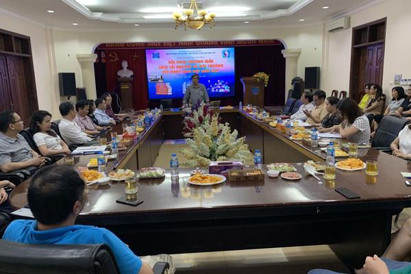 Nhà Xuất bản Tài nguyên - Môi trường và Bản đồ Việt Nam hưởng ứng Ngày Sách Việt Nam lần thứ 8