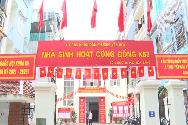 Hà Nội: Phường Yên Hòa tổng vệ sinh môi trường, chỉnh trang đô thị chào mừng ngày hội bầu cử