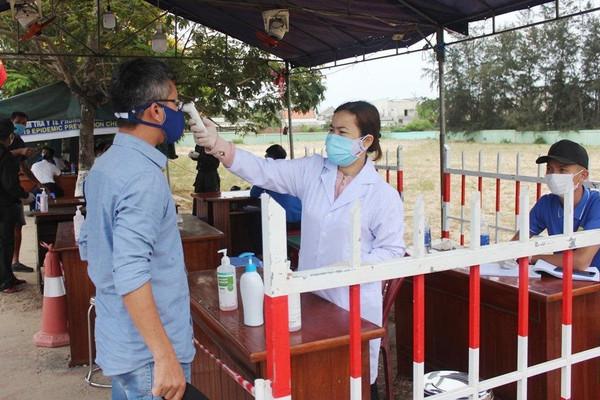 Quảng Nam: Thành lập 7 chốt kiểm soát người đến và về từ Đà Nẵng