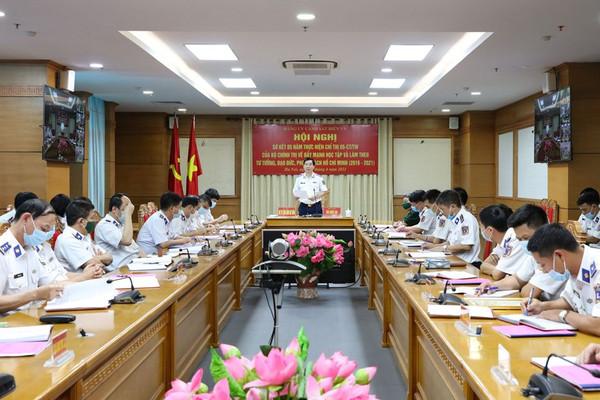 Đảng ủy Cảnh sát biển sơ kết 5 năm thực hiện Chỉ thị 05/CT-TW