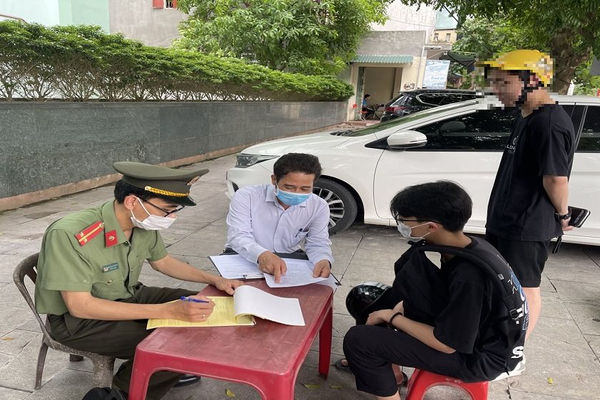 TP. Thanh Hóa: Xử phạt nhiều trường hợp vi phạm công tác phòng, chống dịch Covid-19
