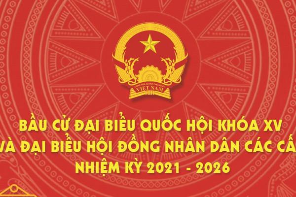 (Infographic) Ngày hội Bầu cử Quốc hội khóa XV và HĐND các cấp nhiệm kỳ 2021-2026