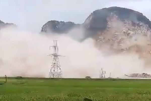 """Nông Cống (Thanh Hóa): Người dân """"sống chung"""" với ô nhiễm vì hoạt động khai thác đá của Công ty Đồng Phú"""