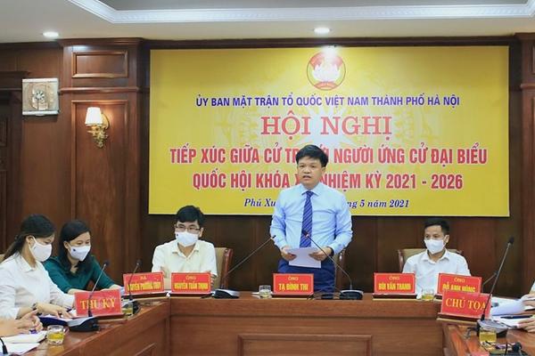 Hà Nội: Cử tri các huyện Phú Xuyên, Thường Tín đánh giá cao Chương trình hành động của ứng cử viên ĐBQH khóa XV Tạ Đình Thi