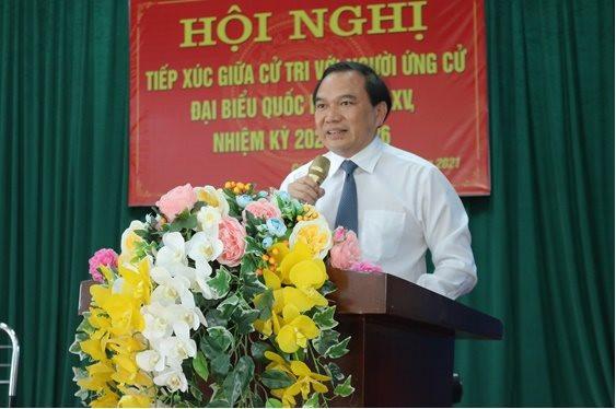 PGS.TS. Nguyễn Công Hoàng: Mong muốn được đưa nguyện vọng, tiếng nói của cử tri đến nghị trường Quốc hội