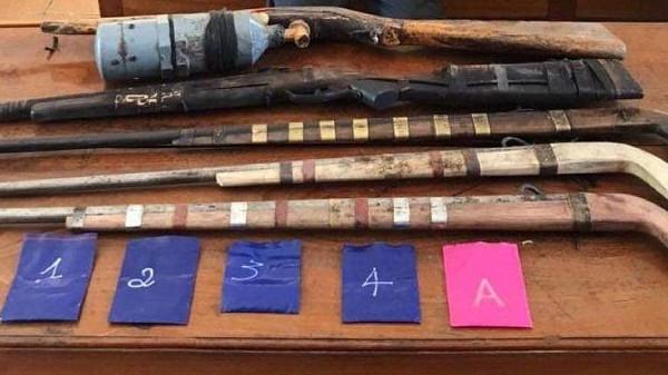 Sơn La: Thu giữ số lượng lớn ma túy và 5 khẩu súng tự chế