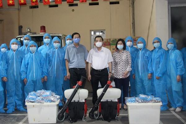 'Đội đặc nhiệm' ưu tú của Thủ đô lên đường hỗ trợ Bắc Giang chống dịch