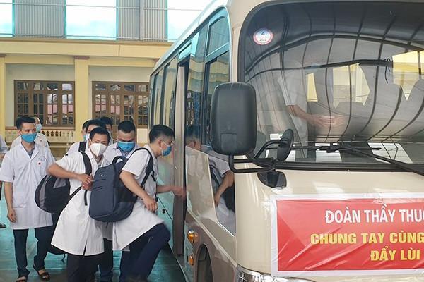 Yên Bái cử đoàn công tác hỗ trợ Bắc Giang phòng chống dịch COVID-19