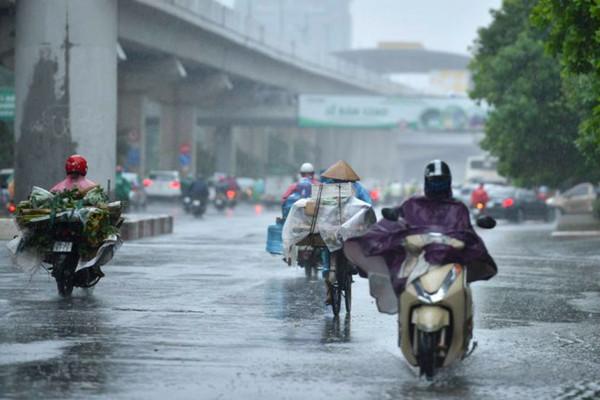 Dự báo thời tiết 18/5: Bắc Bộ có mưa rào và dông