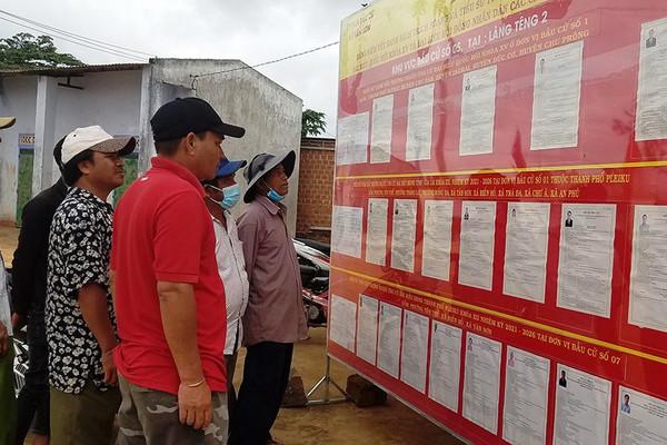 Gia Lai: Tổ chức bầu cử đảm bảo an toàn phòng, chống dịch Covid-19