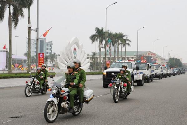 Hà Tĩnh: Công an huy động 100% quân số xuống địa bàn đảm bảo an toàn cho ngày bầu cử