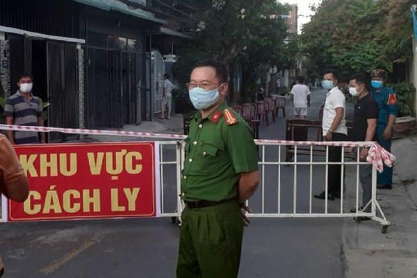 Đà Nẵng: Một cán bộ công an phường dương tính với SARS-CoV-2 khi làm nhiệm vụ