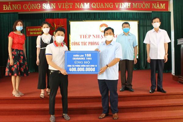 Thái Nguyên: Đoàn kết, tương trợ phòng chống đại dịch Covid 19