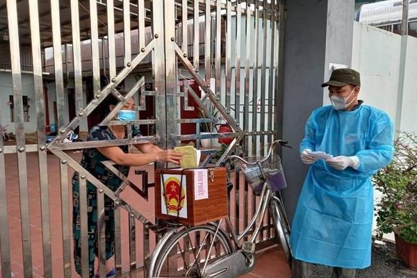 Bắc Giang đảm bảo quyền và nghĩa vụ cho các cử tri đang cách ly