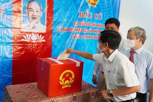 Thừa Thiên Huế: Đến 17h, tỉ lệ cử tri đi bầu cử đạt hơn 99,7%