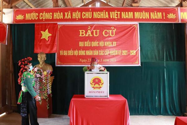 Hơn 787.000 cử tri các dân tộc Sơn La hân hoan đón Ngày hội toàn dân