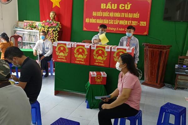 Cử tri phường 11 TP Vũng Tàu: Mỗi lá phiếu là một niềm tin gửi gắm