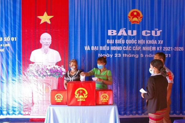 Tỉ lệ cử tri Thừa Thiên Huế đi bầu cử đạt hơn 99,9%