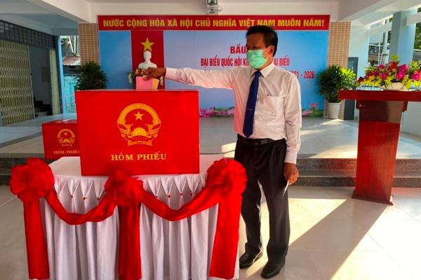 Quận Liên Chiểu (Đà Nẵng) vượt qua khó khăn, quyết tâm hoàn thành công tác bầu cử