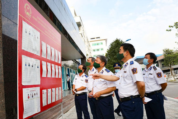 Cán bộ, chiến sĩ Bộ Tư lệnh Cảnh sát biển tham gia bầu cử, thực hiện quyền và nghĩa vụ của công dân