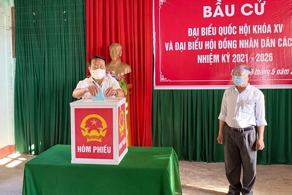 Tỷ lệ cử tri tại Quảng Trị đi bầu cử đạt 99,85%
