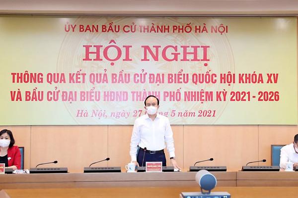 Hà Nội công bố danh sách 95 đại biểu HĐND nhiệm kỳ 2021 - 2026