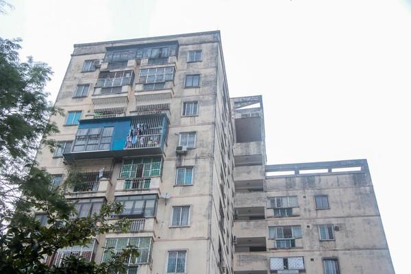 Bất cập quỹ duy tu 2% nhà tái định cư Nơ 14C Định Công