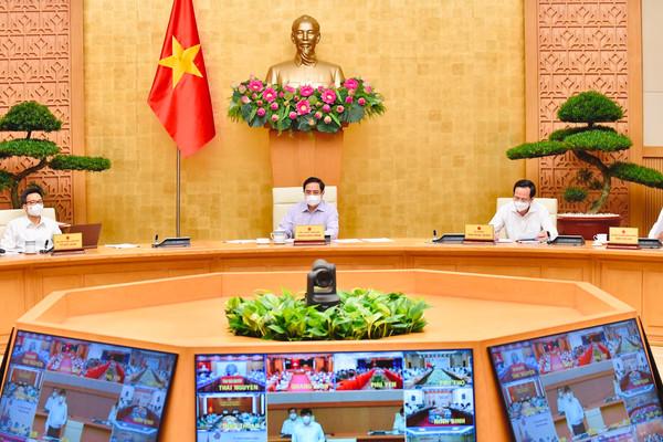 Thủ tướng Phạm Minh Chính triệu tập hội nghị trực tuyến toàn quốc 'chống dịch như chống giặc'