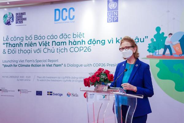 """Công bố báo cáo đặc biệt """"Thanh niên Việt Nam hành động vì khí hậu"""""""