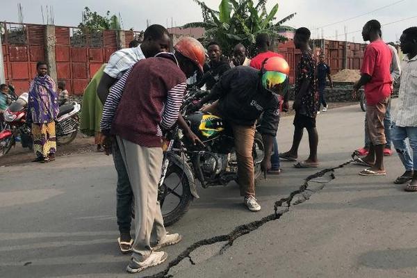 Congo xảy ra 61 trận động đất chỉ trong 24 giờ