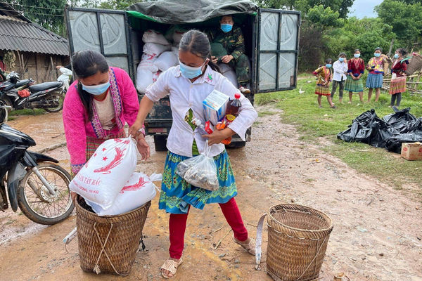 Nậm Pồ - Điện Biên: Đặc biệt quan tâm 600 trẻ em cách ly và hỗ trợ những gia đình bị ảnh hưởng Covid -19