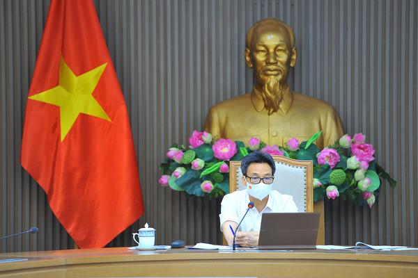 Phó Thủ tướng Vũ Đức Đam họp trực tuyến với 3 'điểm nóng'