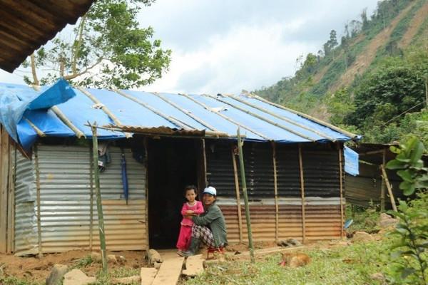 Sớm dựng nhà cho dân vùng núi lở Phước Sơn (Quảng Nam)