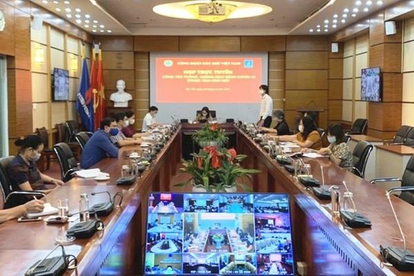 Công đoàn Dầu khí Việt Nam nâng cao phòng, chống dịch Covid-19 trong tình hình mới