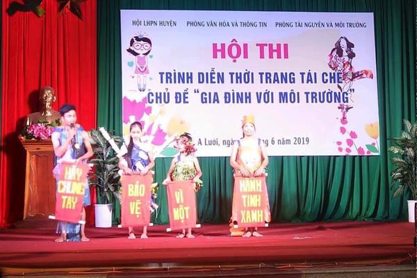 """Phụ nữ vùng cao Thừa Thiên Huế với phong trào """"5 không 3 sạch"""""""