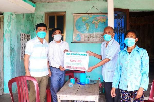 Hà Tĩnh: Thương binh 96 tuổi dùng tiền tiết kiệm ủng hộ quỹ phòng chống dịch bệnh Covid -19