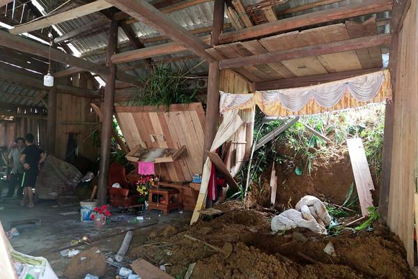 Lào Cai: Mưa lớn gây sạt lở đất khiến một phụ nữ tử vong