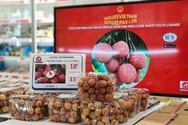 Bộ Công Thương: Gần 1 tấn vải thiều Việt Nam được nhập khẩu chính ngạch vào Pháp