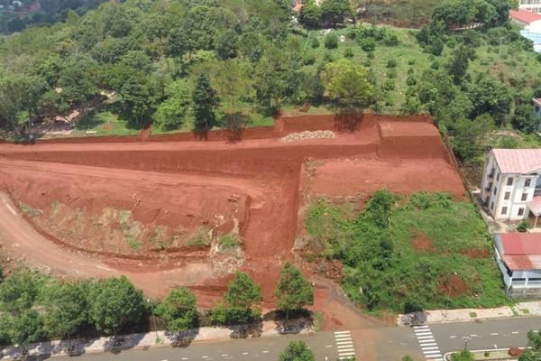 Đắk Nông: Vụ san lấp đồi Cường thịnh ở TP. Gia Nghĩa, Sở Xây dựng cấp giấy phép chưa đúng