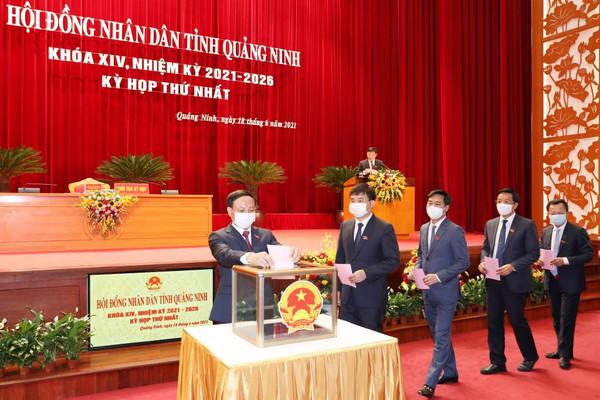 Quảng Ninh bầu các chức danh lãnh đạo chủ chốt của HĐND và UBND tỉnh nhiệm kỳ 2021-2026
