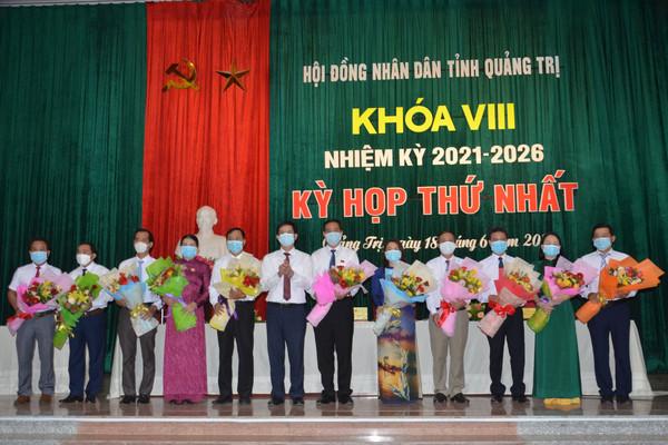 Quảng Trị bầu Chủ tịch HĐND, UBND tỉnh nhiệm kỳ 2021-2026