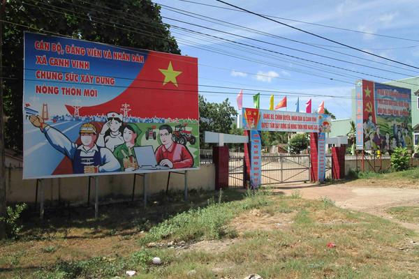 Bình Định: Huyện miền núi Vân Canh đã có xã đầu tiên về đích nông thôn mới