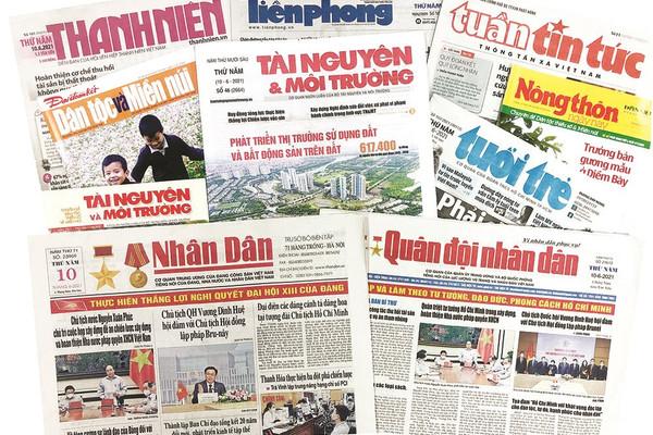 Báo chí Người bạn đường tin cậy của Đảng, của Nhân dân