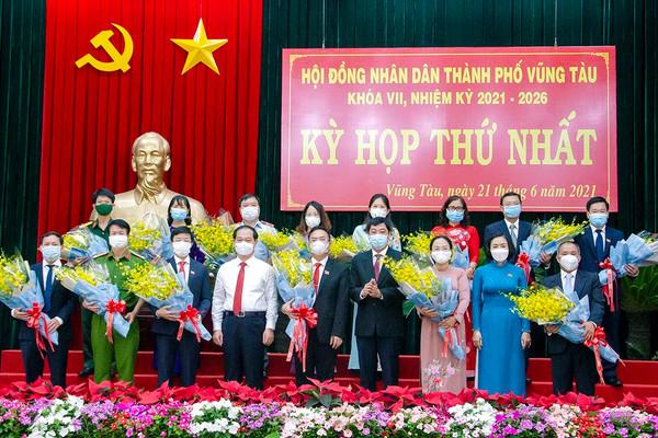 Ông Hoàng Vũ Thảnh được bầu giữ chức Chủ tịch UBND TP. Vũng Tàu