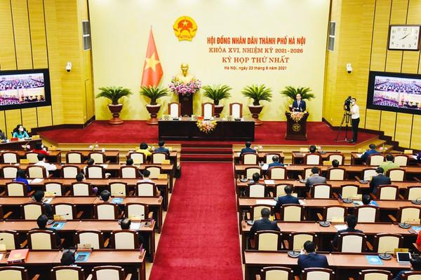 Hà Nội bầu các chức danh chủ chốt tại kỳ họp thứ nhất HĐND Thành phố