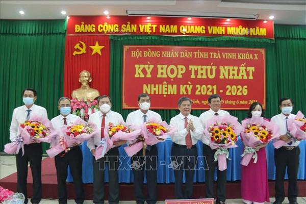 Chủ tịch HĐND, UBND tỉnh Trà Vinh tái đắc cử nhiệm kỳ mới