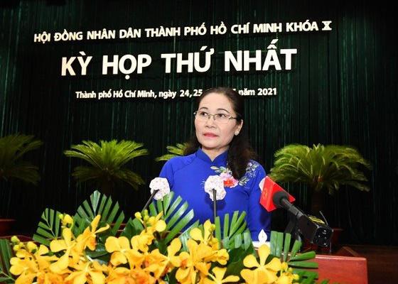 Đồng chí Nguyễn Thị Lệ tái đắc cử Chủ tịch HĐND TPHCM khóa X